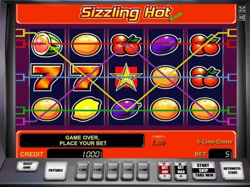 Sizzling Hot Online Kostenlos