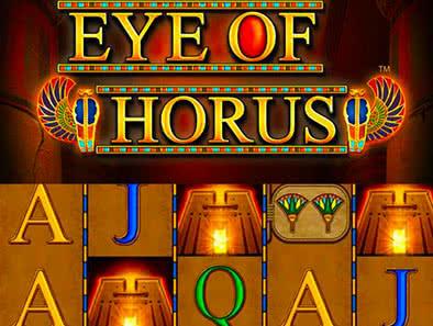Wo kann man Eye of Horus um Echtgeld spielen?