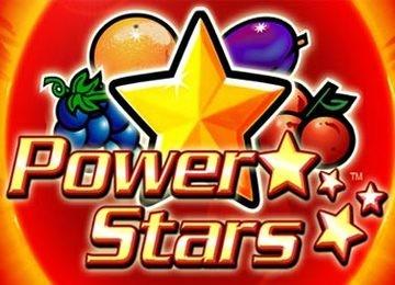 Melden Sie sich bei einem Casino an und genießen Power Stars Slot!