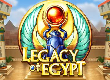 Legacy of Egypt – der tolle Slot von Playn Go