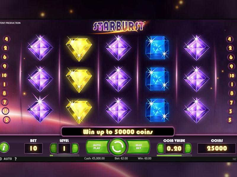 Starburst: Die Besonderheiten des berühmten Automatenspiels von NetEnt