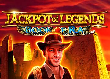 Spiele jetzt Jackpot of Legends – Book of Ra™ deluxe Online-Casino